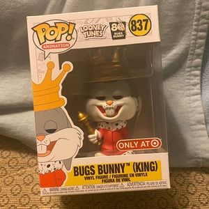 Funko Pop Bugs Bunny King Metallic Exclusive Ed.